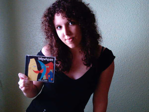 Elisabeth: the lucky winner of the Yellowhouse CD!