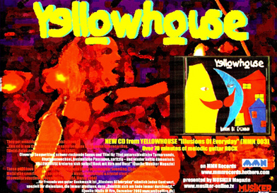 Yellowhouse : Illusions Of Everyday PROMO FLYER 2