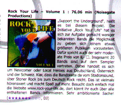 Rock It! Magazin 1/2004